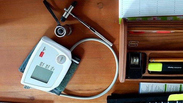 Blood Pressure Monitor, Reflex Hammer, Investigation