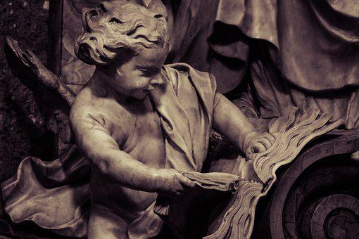 Angel, Reader, Reading, Book, Education, Read