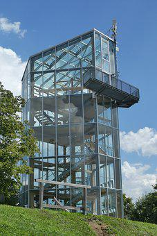 Panoramatoren, Tower, View, Vista, Building, Steel