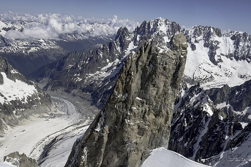 Mountain, Dent Du Géant, Chamonix, Summit, High