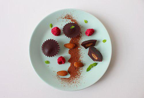 Chocolate, Candy, Dessert, Gastronomy, Mint, Blueberry