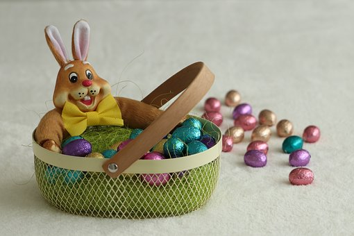 Easter, Easter Decoration, Eggs, Easter Bunny, Haas