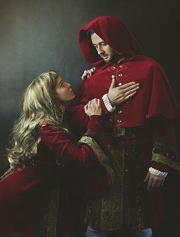 Monarch, Costumes, Middle Ages, Portrait, Sovereign