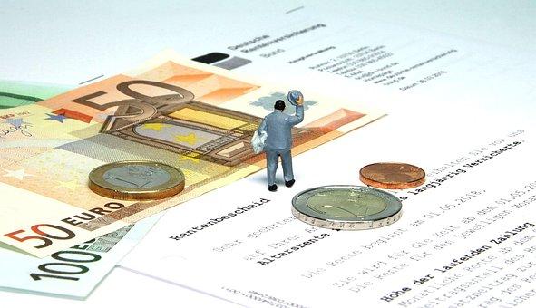 Retirement, Pension, Miniature Figures, Pensioners