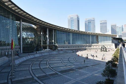 China, Shanghai, Architecture, City, Museum