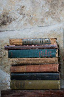 Background Image, Old, Decay, Books, Texture, Vintage