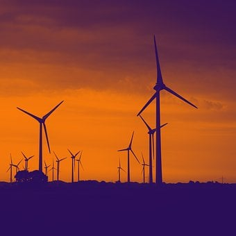 Windräder, Pinwheel, Wind Power, Wind Energy
