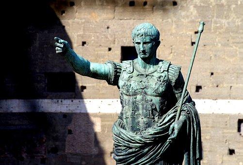 Emperor, Imperator, Ruler, Rome, Antiquity, Statue
