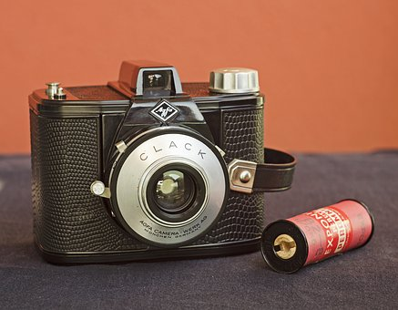 Camera, Bake-lite, Simple, Technology, Afga Clack