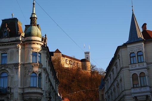 Slovenia, Ljubljana, Castle, Architecture, City