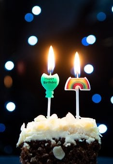 Candles, Birthday, Cake, Sweet, Candle, Welcome
