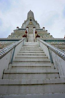 Wat Arun, Wat, Temple, Bangkok, Thailand, Buddhism