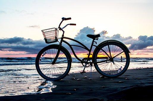 Sea, Bike, Bicycle, Beach, Nature, Water, Ocean, Travel
