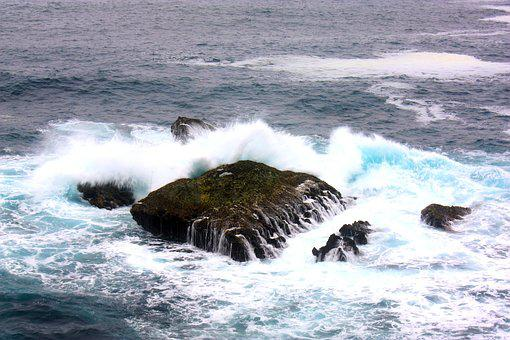 Mar, Waves, Ocean, Water, Nature, Costa, Blue, Holidays