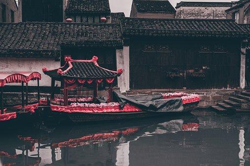 China, Watertown, The Ancient Town, Nanxun