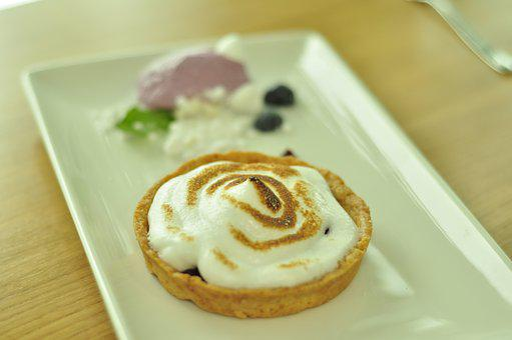 Blueberry Cake, Zephyr, Pastry, Ice Cream