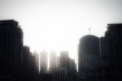 Skyline, Skyscraper, Architecture, City, Modern