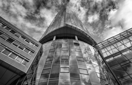 Architecture, Tower, Glass, Facade, Window, Building