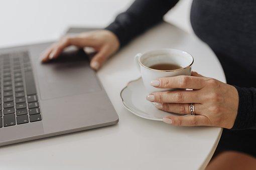 At Home, Beverage, Blogger, Blogging, Browsing