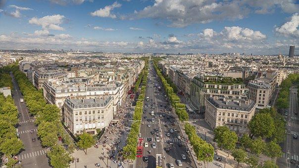 Paris, City, France, Landmark, Tourism, Europe, Famous