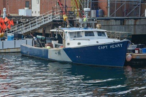 Gloucester, Ma, Water, Boat, Lobster, Sea, Coast