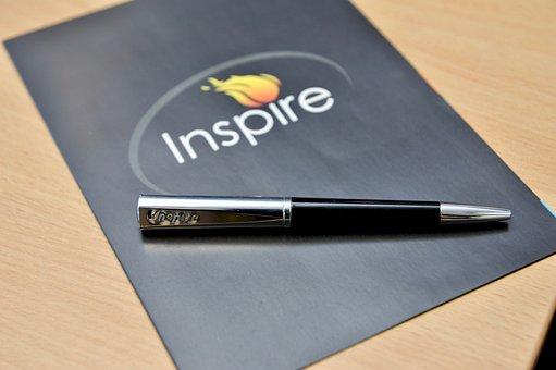 Office, Brochure, Pen, Desk, Business, Planning, Paper