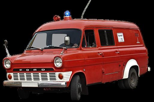 Fire Truck, Volunteer Firefighter, Fire Fighting