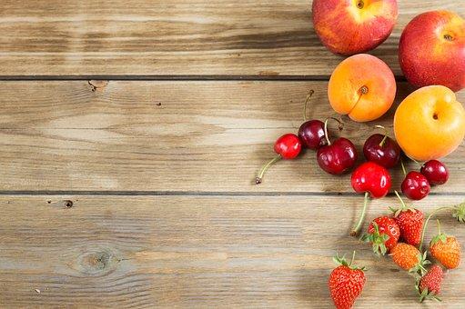 Background, Summer, Apricot, Fishing, Strawberry