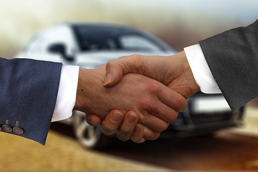 Handshake, Autokaufmann, Auto, Buy, Contract, Buyer