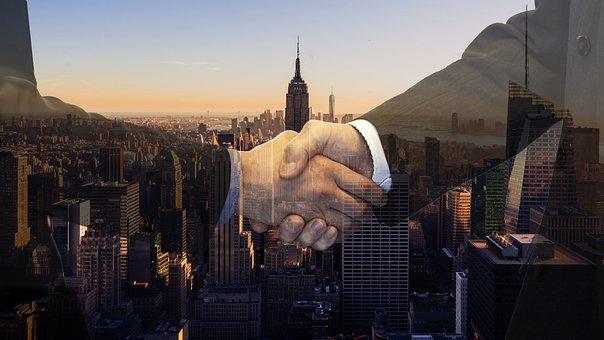 Handshake, Contract, Buyer, Dealer, Shaking Hands
