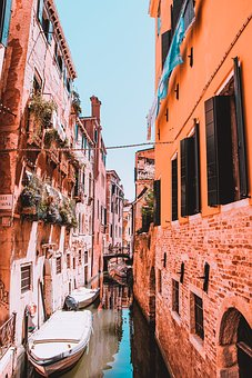 Venice, Canals, Architecture, Italy, Water, City