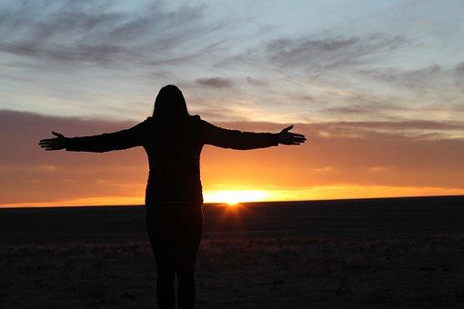 Mt Sunflower, Kansas, Highpoint, Sunset