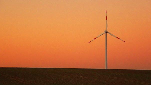Pinwheel, Wind Power, Wind Energy, Landscape, Sky