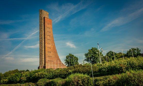 Tower, Landscape, Architecture, Marine Cenotaph