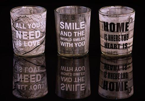 Drinking Glasses, Mirroring, Proverbs, Motivation, Love