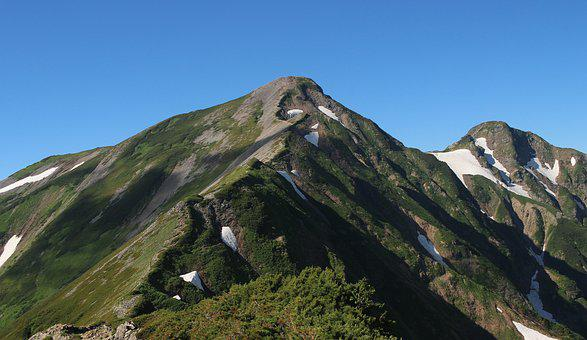 Snow Mountain, Mountain Climbing, Japan, Mountain