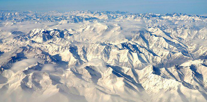 Andes, South America, Mountion, Snow, Nature, White