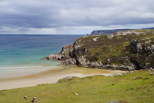 Scotland, North, North Of Scotland, Landscape, Sea
