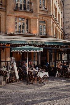 Restaurant, Paris, France, Bistro, Cafe, Coffee, Europe