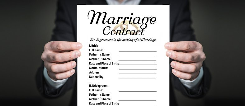 Prenup, Before, Contract, Compatible, Wedding, Marriage