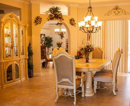 Formal Dining Room, Interior Design, Dining, Setting