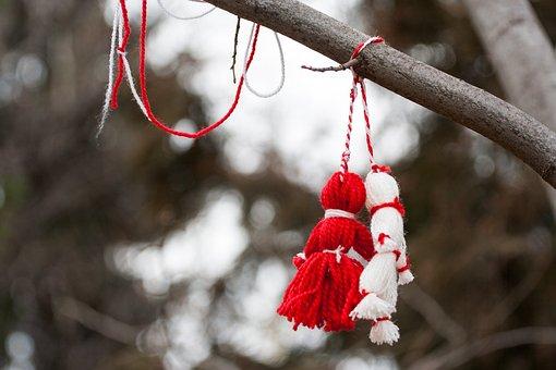 Martenitsa, Tradition, Symbol, Custom, Mar, Red