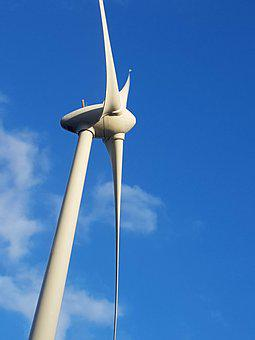 Windmill, Sky, Wind, Clouds, Architecture, Energy
