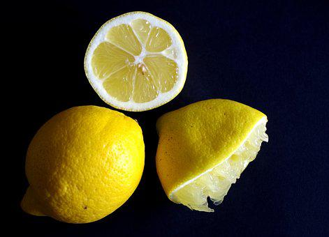 Lemon, Sour, Healthy, Vitamin C, Juice, Yellow, Food
