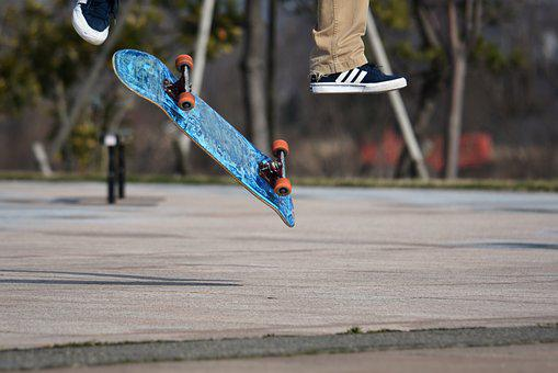 Sports, Skateboard, Fun, Shoes, Sneakers, Adidas