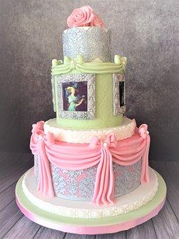 Wedding Cake, Rococo, Baroque, Marie Antoinette