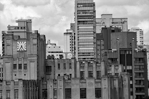 Chaos, Buildings, City, Urban, Modern, Structure
