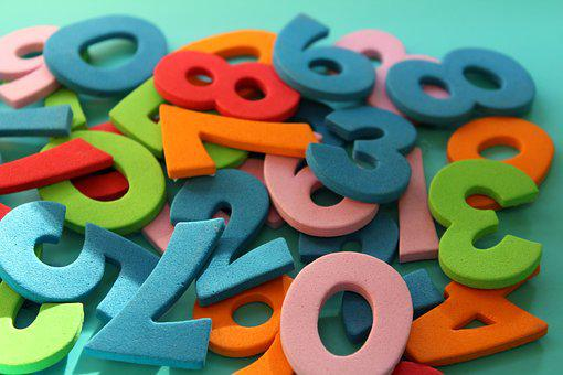 Digits, Counting, Mathematics, The Number Of, Education