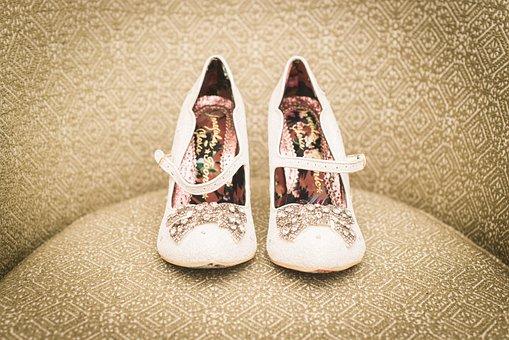 Shoes, Wedding, Marriage, Event, High Heels, Women