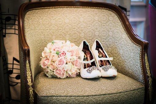 Bouquet, Wedding, Flowers, Roses, Flower, Romantic